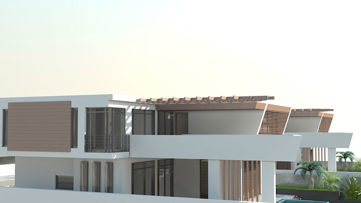 Turan Villaları Minimalist Evler Gama Mimarlık Minimalist Beton
