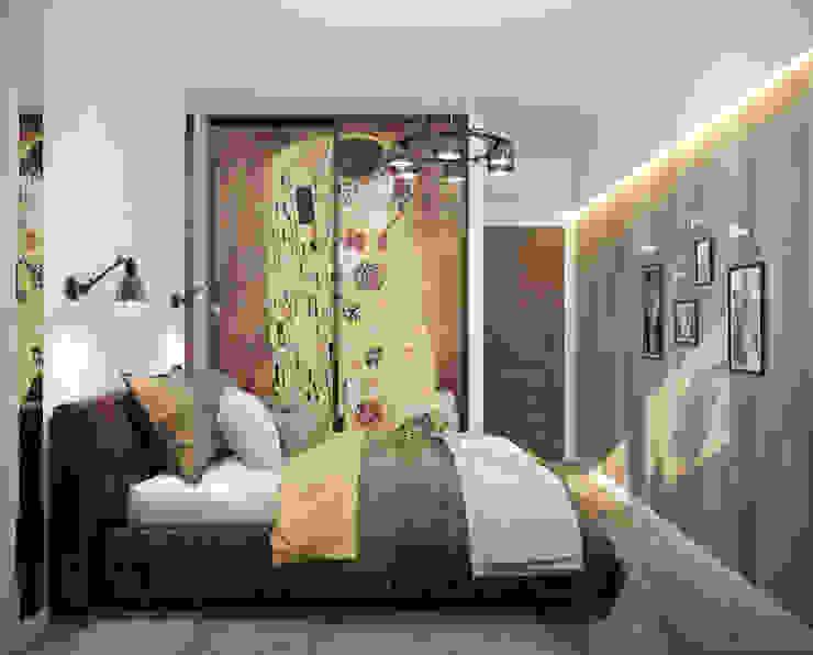 모던스타일 침실 by Студия интерьерного дизайна happy.design 모던