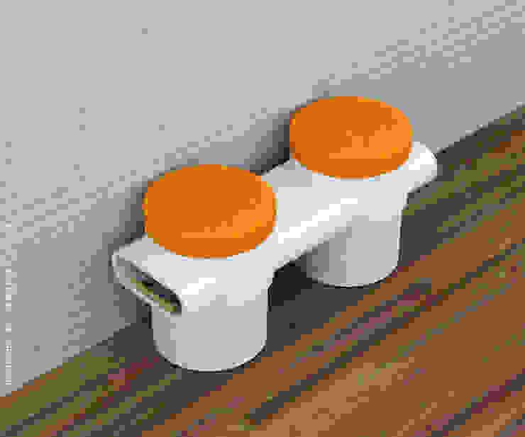 Twin stools: modern  by Preetham  Interior Designer,Modern