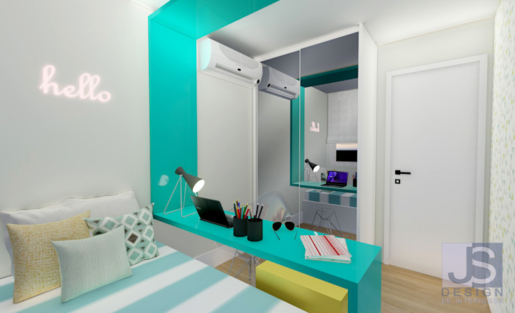 JS Interiores Modern style bedroom