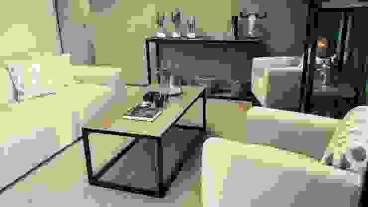 Eco Elementum Office Reception Area by GSI Interior Design & Manufacture Minimalist