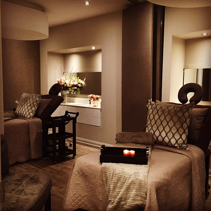 Couples Treatment Room GSI Interior Design & Manufacture Spa