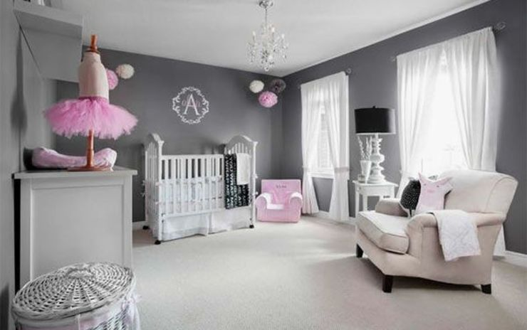 Girls Bedroom GSI Interior Design & Manufacture Modern style bedroom Pink