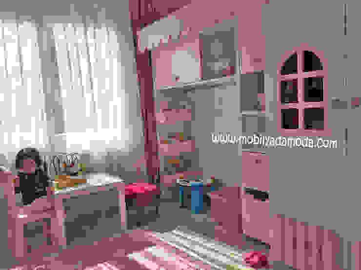 Özel Tasarım Çocuk Odası, Ev Kaydıraklı Ranza, Mina'nın Odası Modern Çocuk Odası MOBİLYADA MODA Modern Ahşap Ahşap rengi