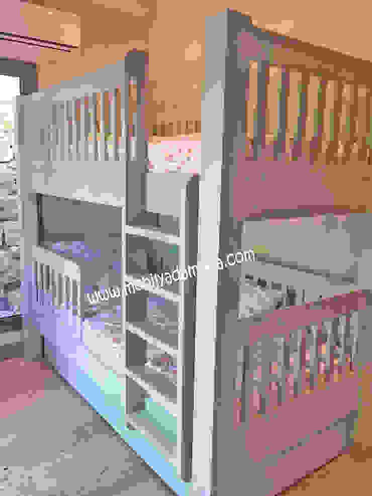 Kişiye Özel Çocuk OdasI Ranzası, Altı yavru yataklı ranza Modern Çocuk Odası MOBİLYADA MODA Modern Ahşap Ahşap rengi