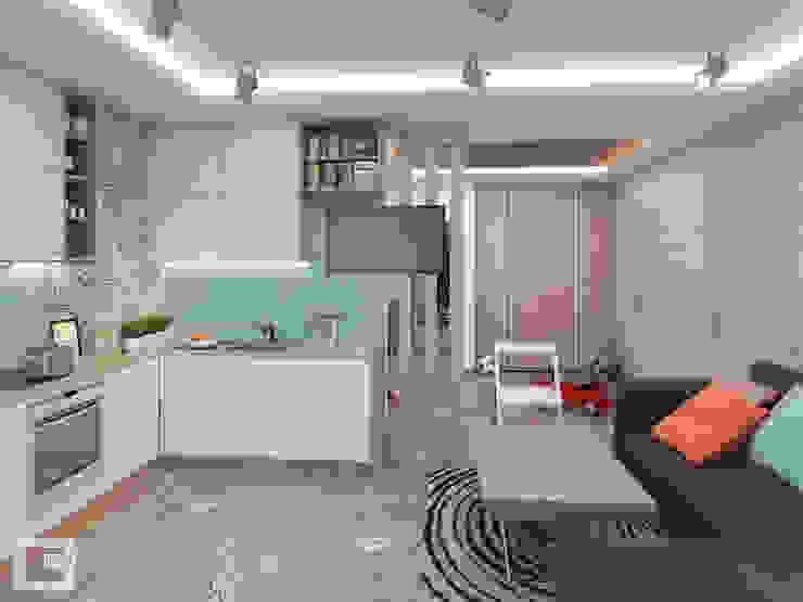 Скандинавское настроение: Кухни в . Автор – Giovani Design Studio,