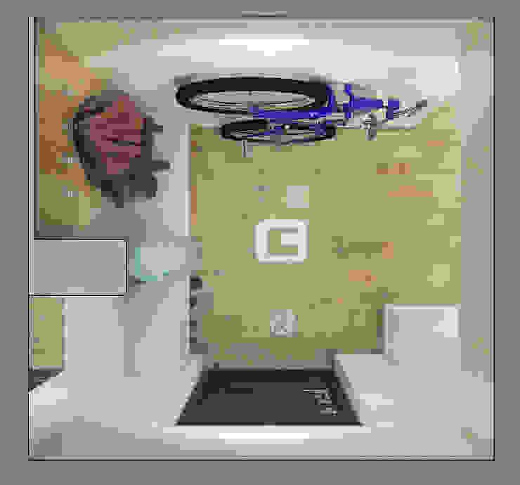 Scandinavian style corridor, hallway& stairs by Giovani Design Studio Scandinavian