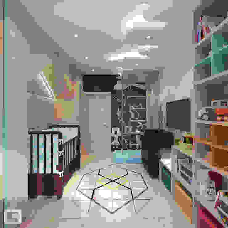 Scandinavian style nursery/kids room by Giovani Design Studio Scandinavian
