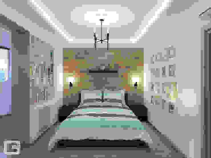 Scandinavian style bedroom by Giovani Design Studio Scandinavian