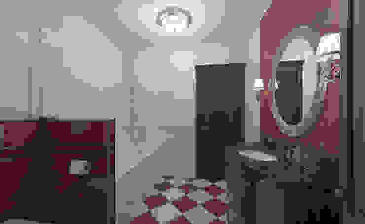Интерьер ванной комнаты. Ванная в классическом стиле от Aleksandra Kostyuchkova Классический