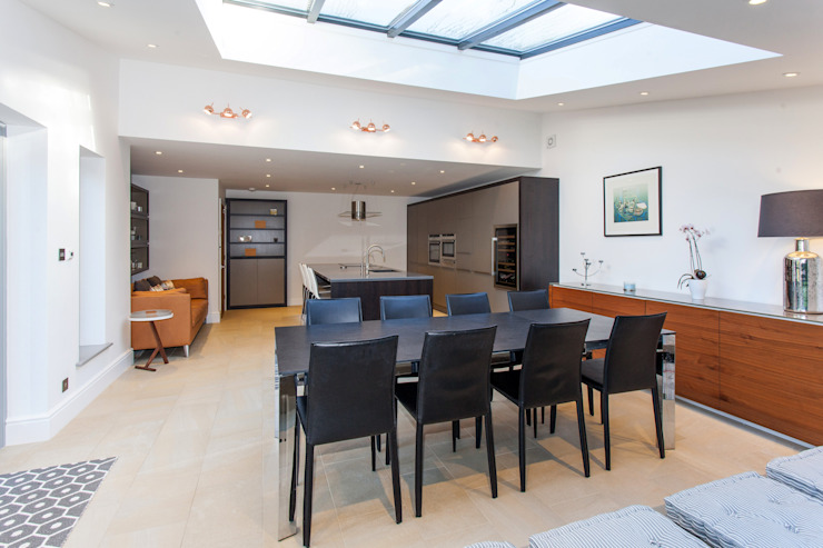 Dining room by Hampshire Design Consultancy Ltd., Modern