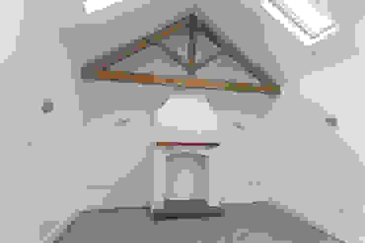 White Horse Pub Hampshire Design Consultancy Ltd. 客廳