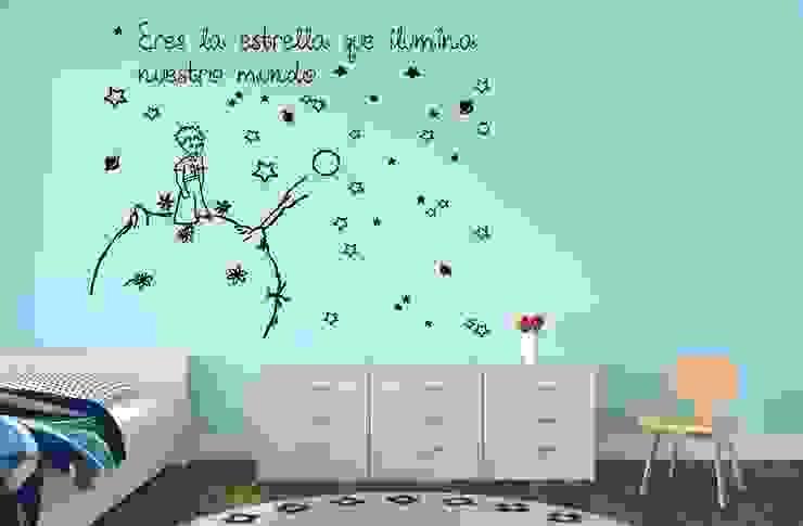 Vinilo El Principito Ilumina Nuestro Mundo Vinilos infantiles Dormitorios infantiles Accesorios y decoración
