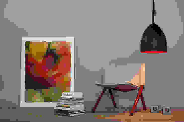 Flower S lavagna di in-es.artdesign Moderno