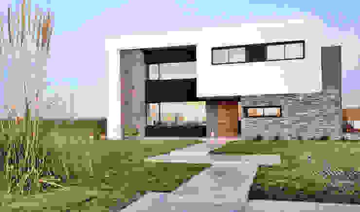 Casa M2 - Estudio Fernandez+Mego Estudio Fernández+Mego Casas minimalistas