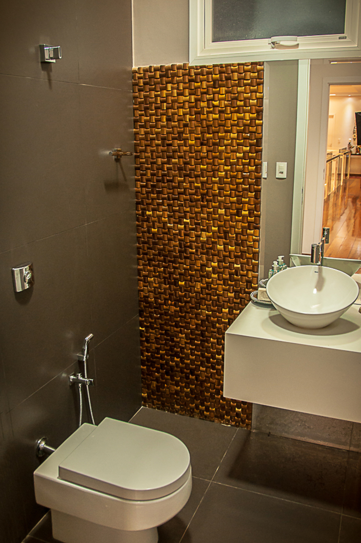 Modern Bathroom by A/ZERO Arquitetura Modern
