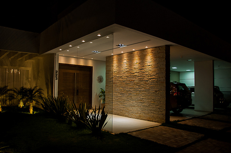 Houses by A/ZERO Arquitetura, Modern