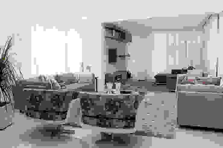 Camila Castilho - Arquitetura e Interiores Salon moderne