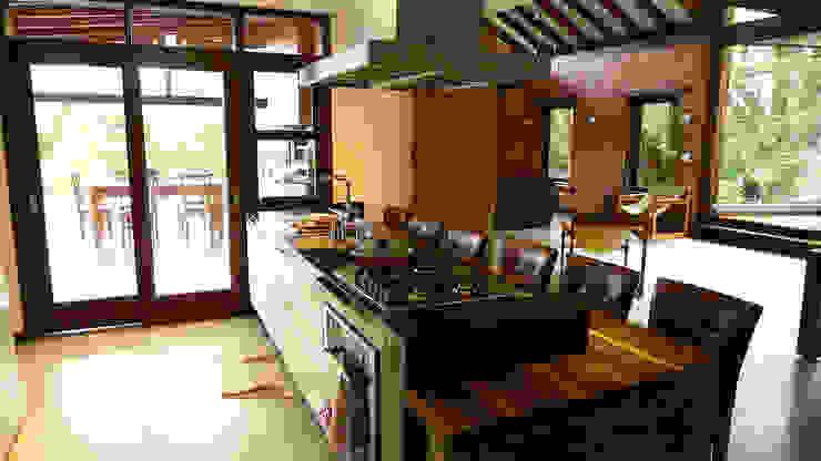 Casa Santo Antonio de Lisboa Cozinhas rústicas por Baixo Impacto Arquitetura Ltda. Rústico