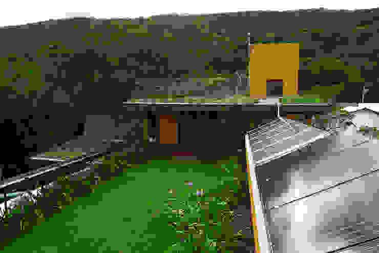 Jardines de estilo  por Baixo Impacto Arquitetura Ltda.