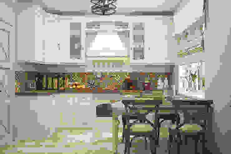 """Кухня """"Davinci"""" Кухня в средиземноморском стиле от Студия дизайна Дарьи Одарюк Средиземноморский"""