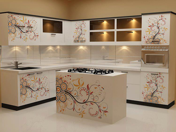 Dapur oleh Dream space Interiors