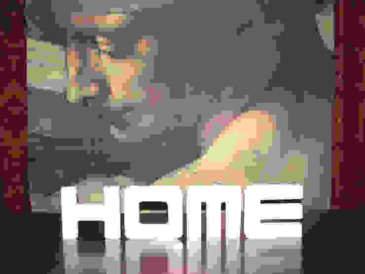 Dekobuchstaben 3D HOME 1 von K&L Wall Art Ausgefallen