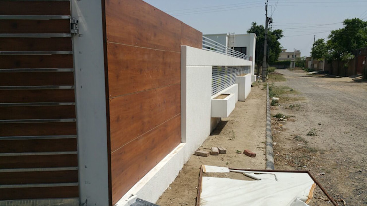 boundary wall pic A Mans Creation Modern houses