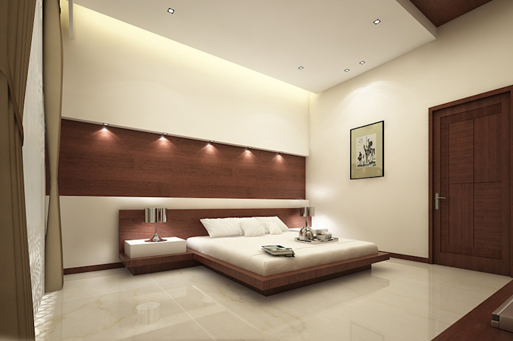 room2 A Mans Creation Modern style bedroom