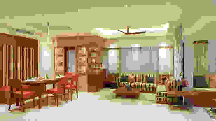 Residential - Dataye Modern living room by Nestopia Modern