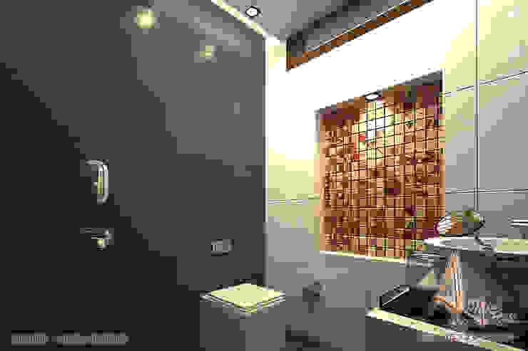 daughter bathroom Modern bathroom by A Mans Creation Modern