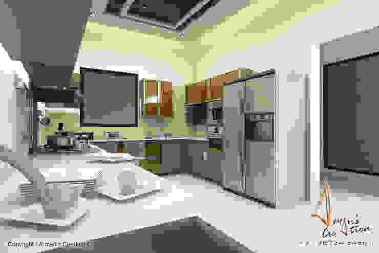 kitchen Modern kitchen by A Mans Creation Modern