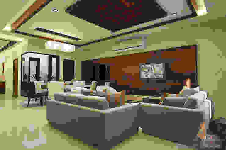 A Mans Creation Salas de estar modernas