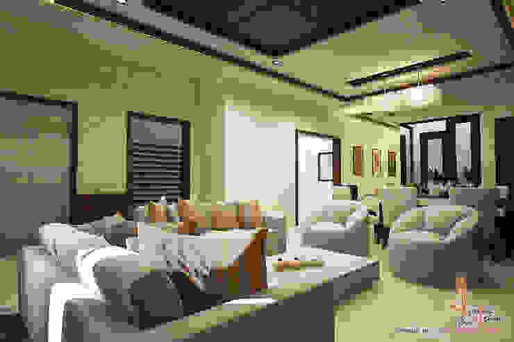 hospital Modern living room by A Mans Creation Modern