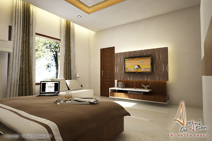 son bedroom Modern style bedroom by A Mans Creation Modern