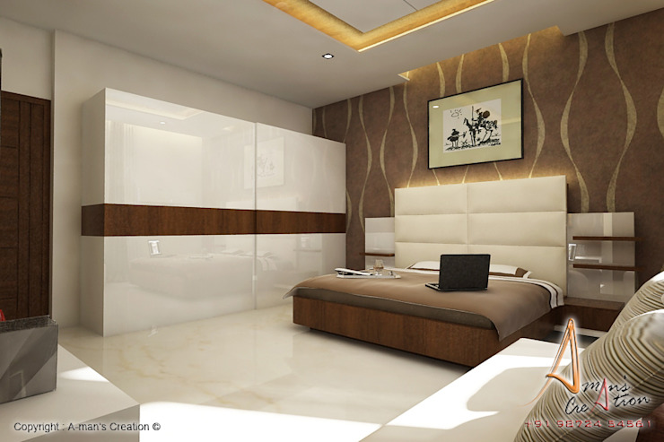 hospital Modern style bedroom by A Mans Creation Modern