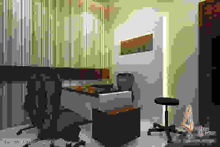 hospital Modern study/office by A Mans Creation Modern