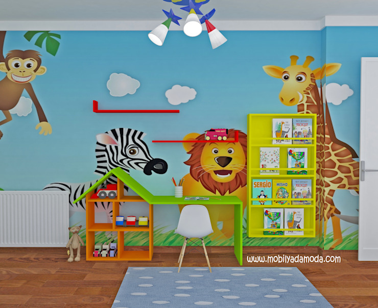 Nursery/kid's room by MOBİLYADA MODA ,