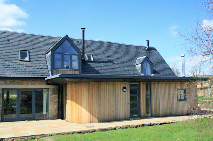 Front Extension The School House de Fife Architects