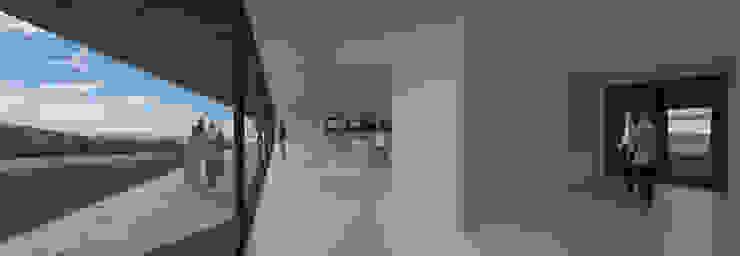 Casa Lamego Salas de estar modernas por Lousinha Arquitectos Moderno