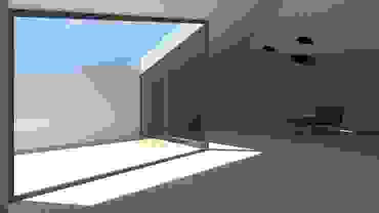 Casa Fonte Salas de estar modernas por Lousinha Arquitectos Moderno