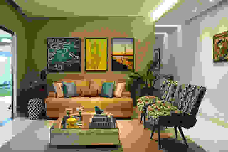 Sala de Estar Salas de estar modernas por CARDOSO CHOUZA ARQUITETOS Moderno