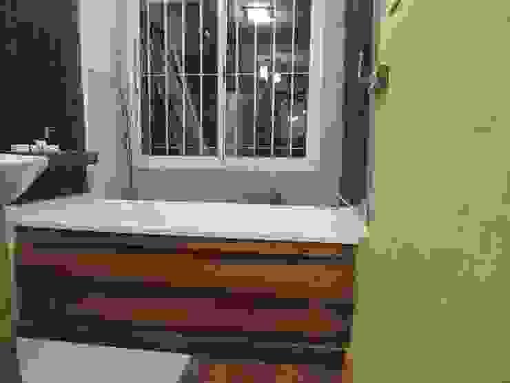 spa Baños modernos de CRISTINA FORNO Moderno Madera Acabado en madera