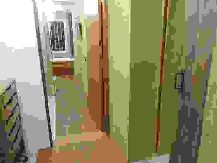 continuidad del espacio Baños modernos de CRISTINA FORNO Moderno Madera Acabado en madera