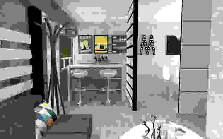 Salas de jantar ecléticas por AurEa 34 -Arquitectura tu Espacio- Eclético