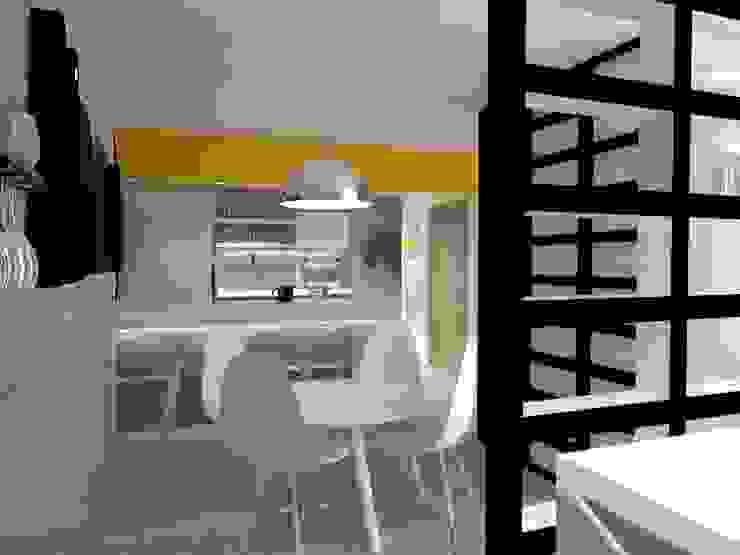 COMEDOR-COCINA Cocinas modernas de AurEa 34 -Arquitectura tu Espacio- Moderno