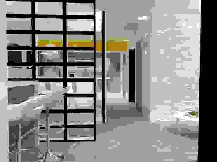RECIBIDOR Pasillos, vestíbulos y escaleras eclécticos de AurEa 34 -Arquitectura tu Espacio- Ecléctico