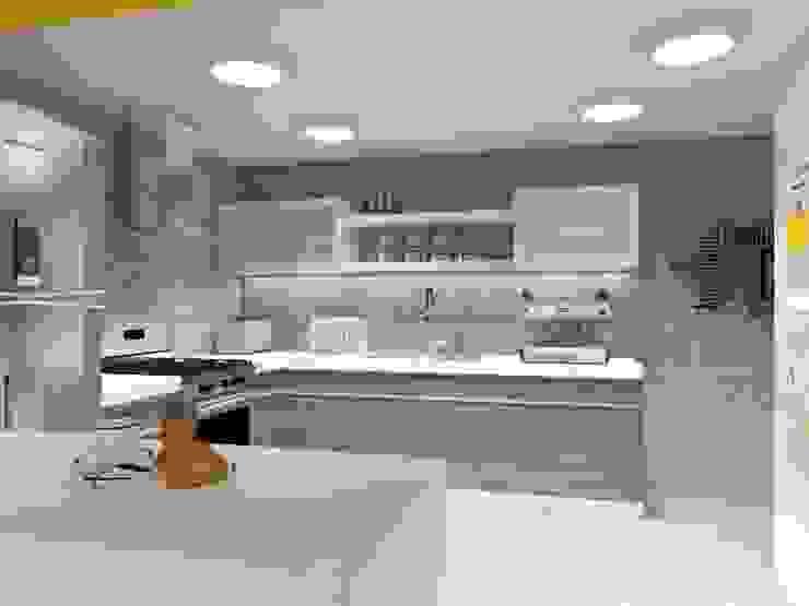 COCINA Cocinas eclécticas de AurEa 34 -Arquitectura tu Espacio- Ecléctico