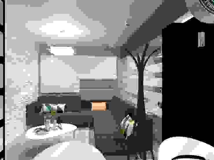 SALA Salones minimalistas de AurEa 34 -Arquitectura tu Espacio- Minimalista