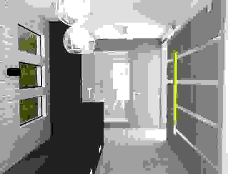 HALL Pasillos, vestíbulos y escaleras eclécticos de AurEa 34 -Arquitectura tu Espacio- Ecléctico Madera Acabado en madera